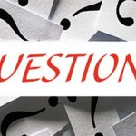Graphic with Questions writen and question marks